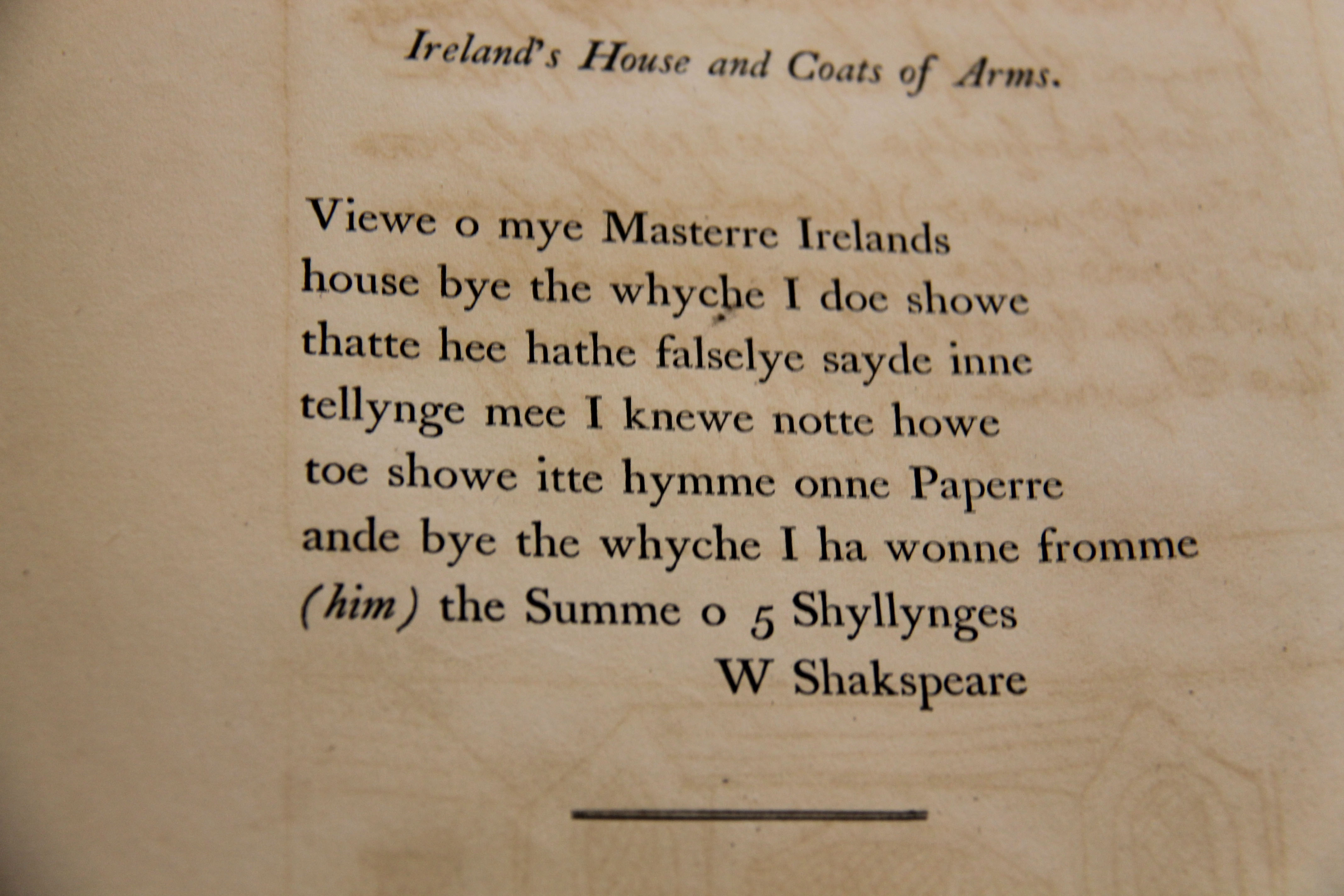 Shakespeares signature provenance online project housems houseprint spiritdancerdesigns Gallery